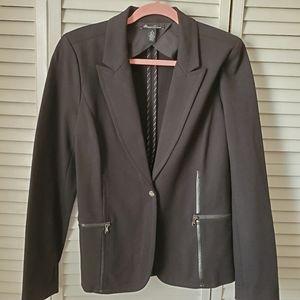Kenneth Cole stretchy black blazer 12